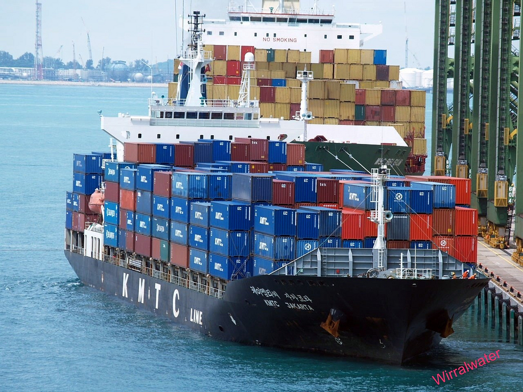 Container trade forecast growth