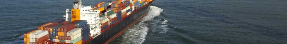 Container ship at sea - Clarke Global Logistics